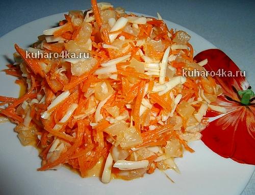ананасовый салат с сыром