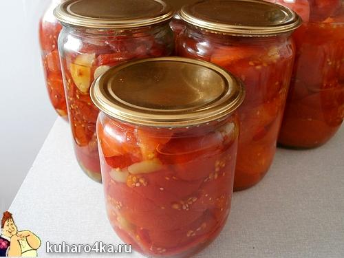 Вкусные помидоры дольками на зиму рецепты