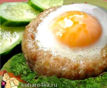 Блюдо из кусочков филе индейки
