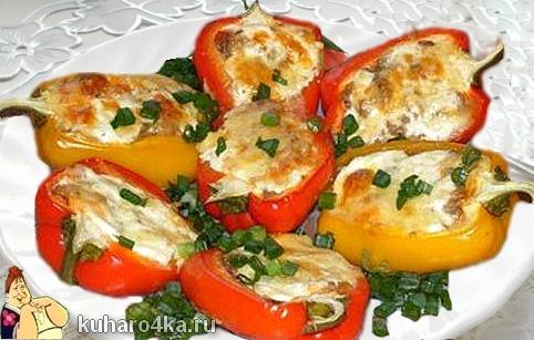 Блюда из перцев рецепты с фото