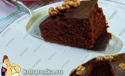 Постный торт, рецепт